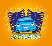 Car wash sign.