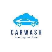 Car wash vector icon design.