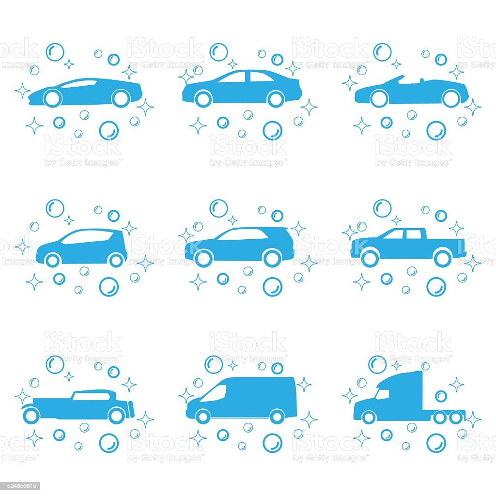 car wash clip art, vector images & illustrations - istock