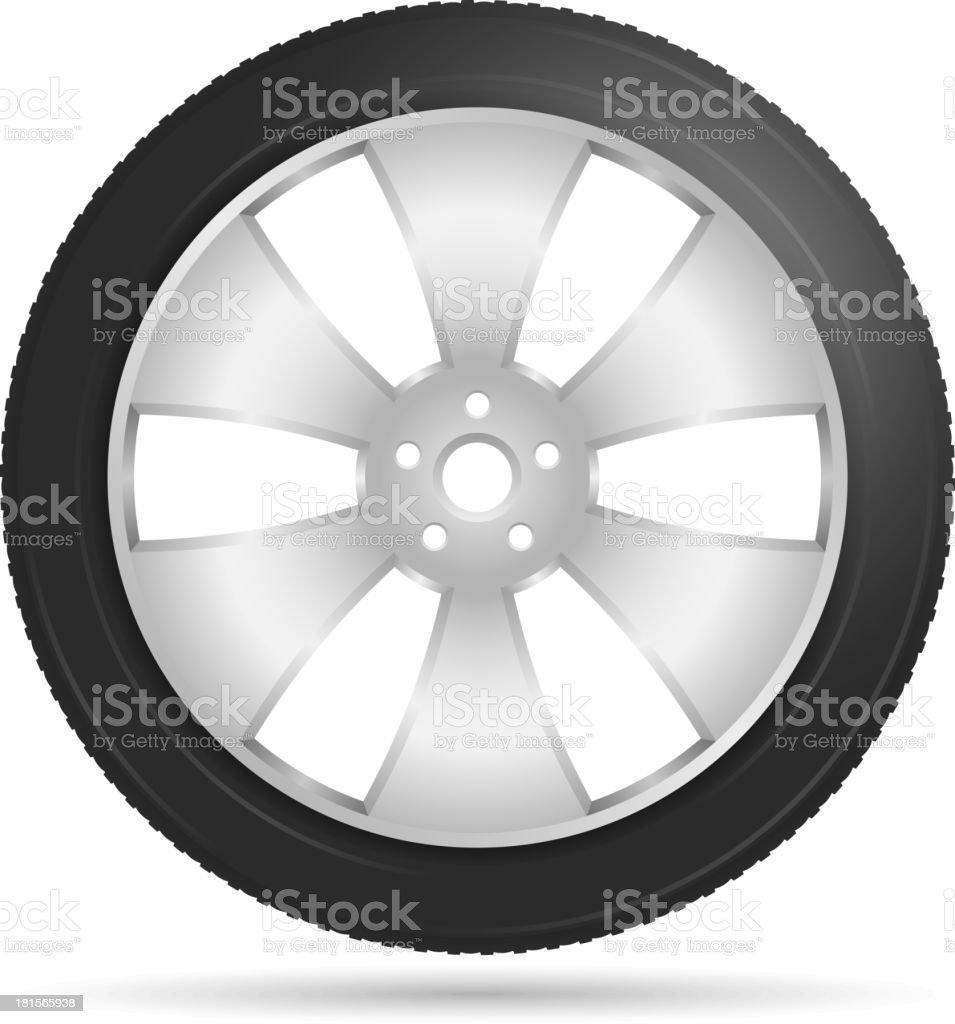 Car Wheel royalty-free car wheel stock vector art & more images of alloy