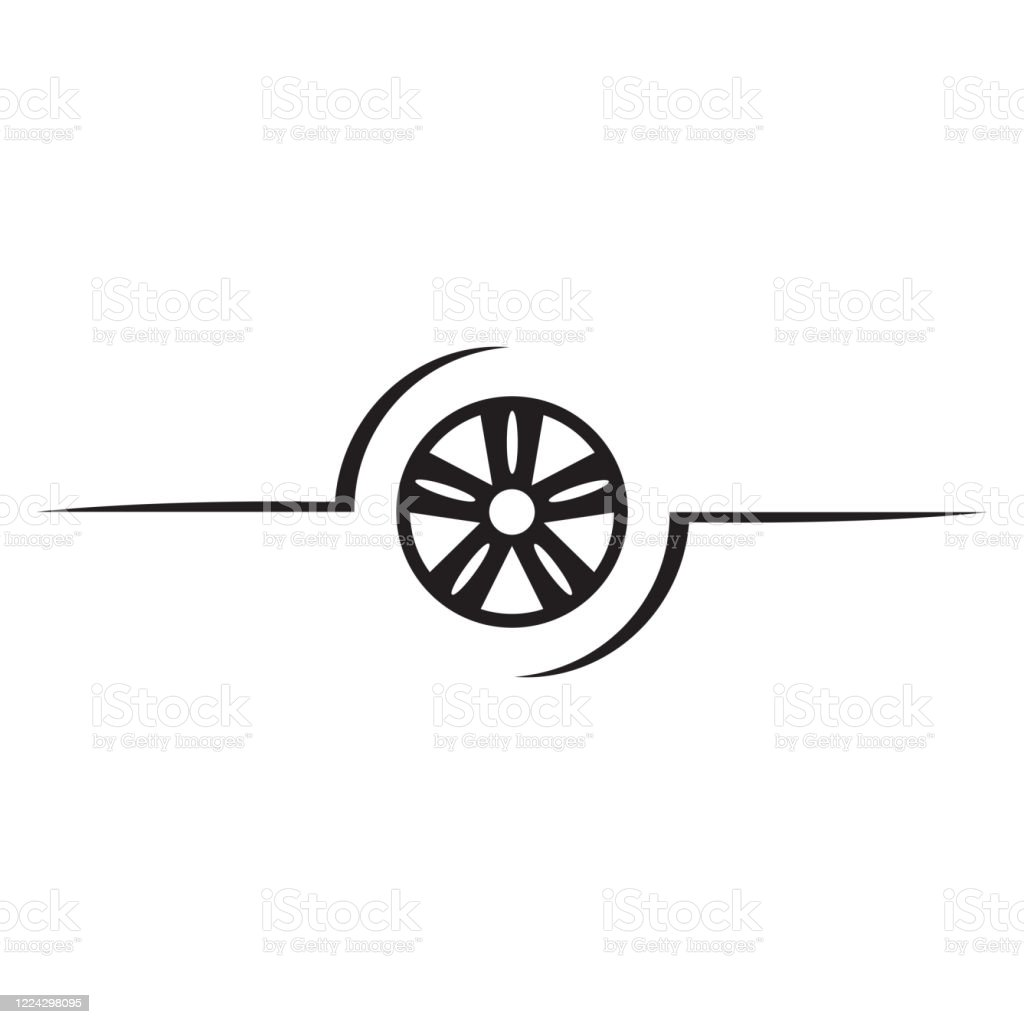 Car Wheels Logo Template Vector Icon Stock Illustration Download Image Now Istock