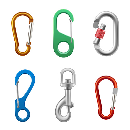 Carabineer bright set, quick link oval collection