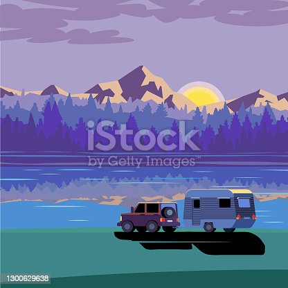 istock Caravan 1300629638
