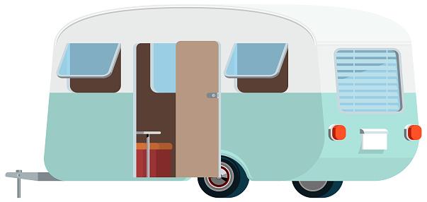 Cute Vector Caravan