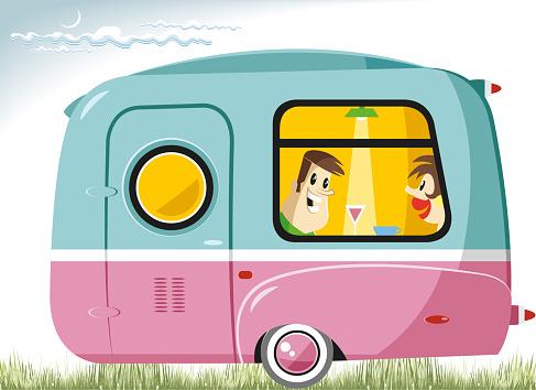 Caravan vintage