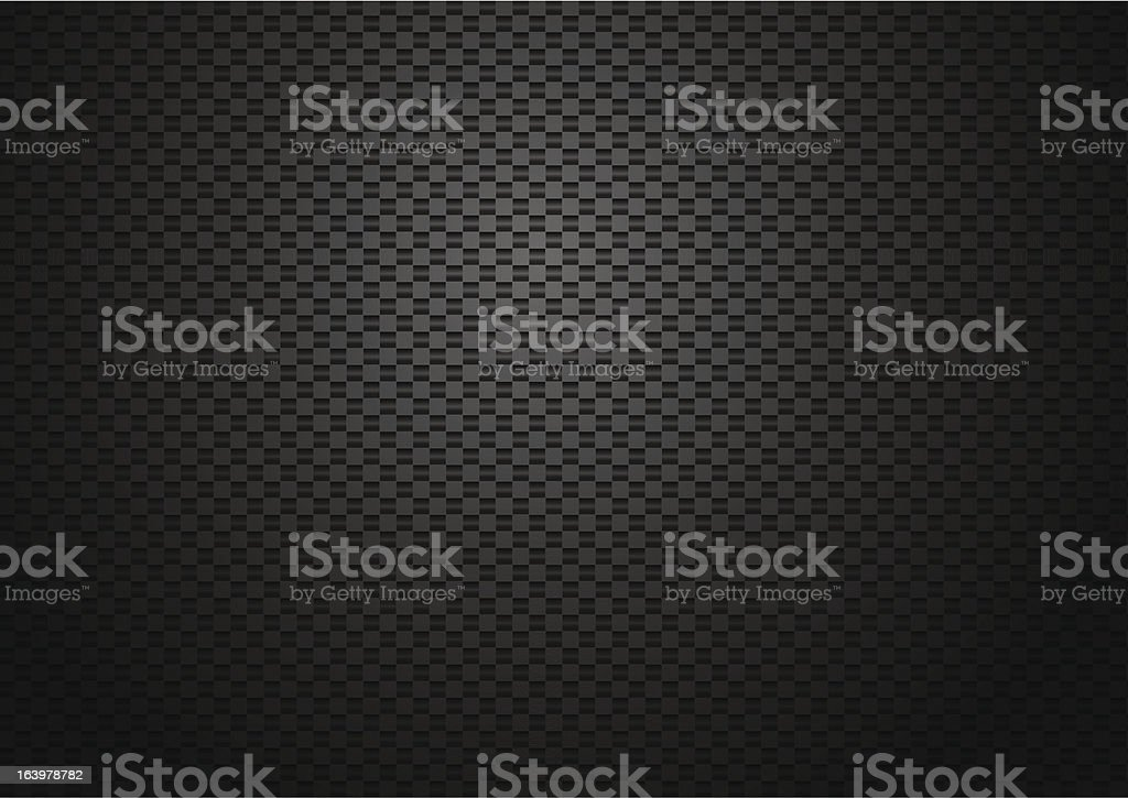 Carbon background vector art illustration