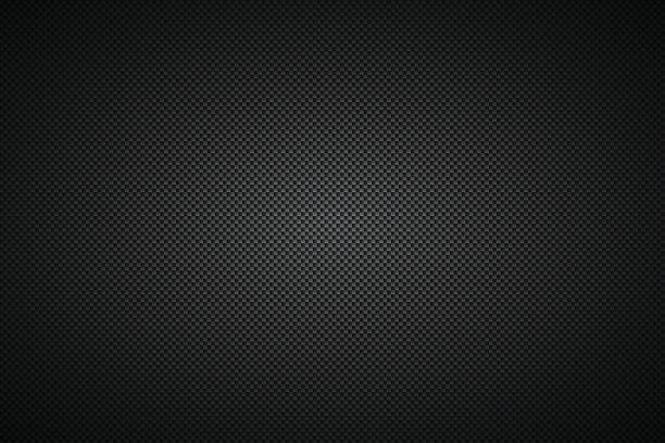 carbon fiber texture - background - 직물 stock illustrations
