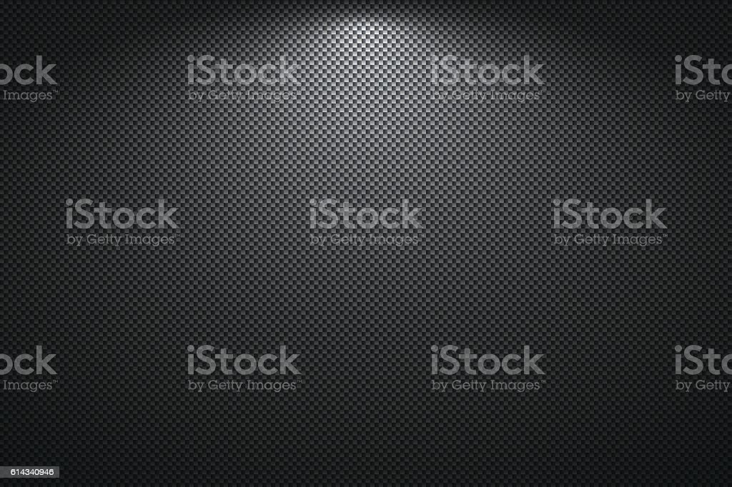 Carbon Fiber Texture - Background - ilustración de arte vectorial