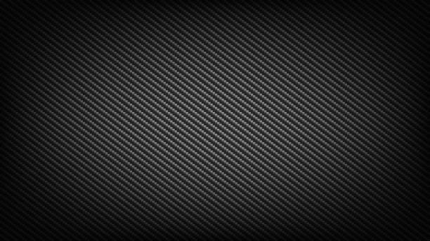 Carbon fibre backdrop Carbon fiber wide screen background. Technological and science backdrop. crisscross stock illustrations