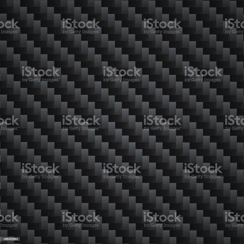 Carbon Kevlar black vector art illustration