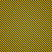 Vector Illustration : Carbon Kevlar yellow