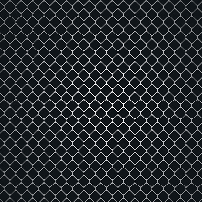 Carbon Metallic Seamless Pattern Design Background Vector Stock Illustration - Download Image Now