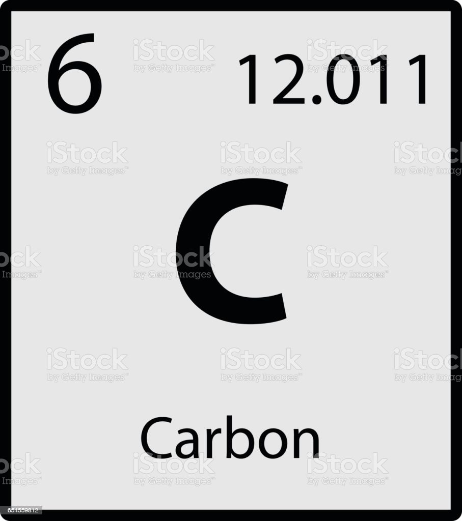 Carbon periodic table element gray icon on white background vector carbon periodic table element gray icon on white background vector royalty free stock vector art gamestrikefo Images