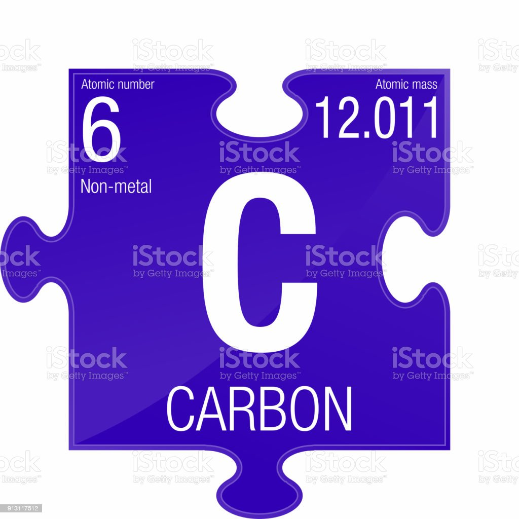 Carbon symbol element number 6 of the periodic table of the elements carbon symbol element number 6 of the periodic table of the elements chemistry royalty urtaz Gallery