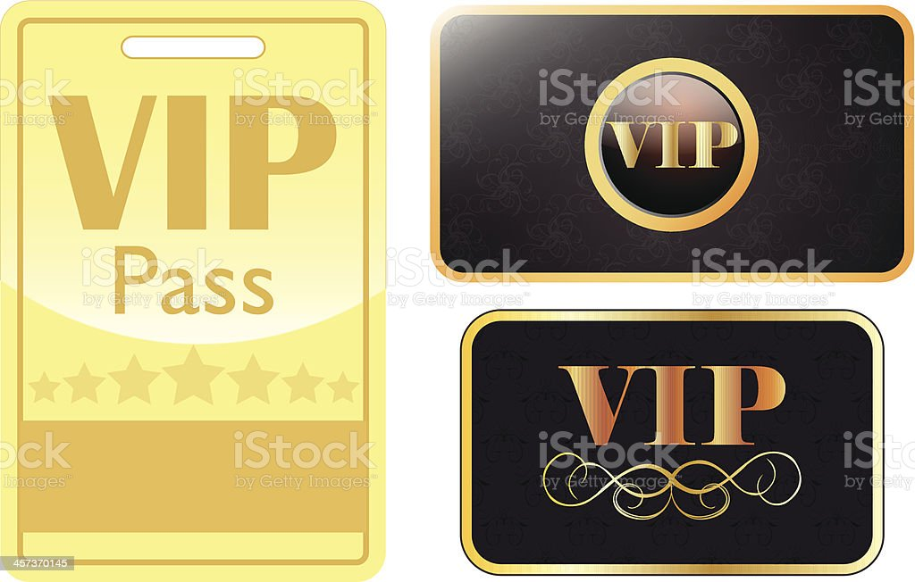VIP card and pass royalty-free vip card and pass stock vector art & more images of accessibility