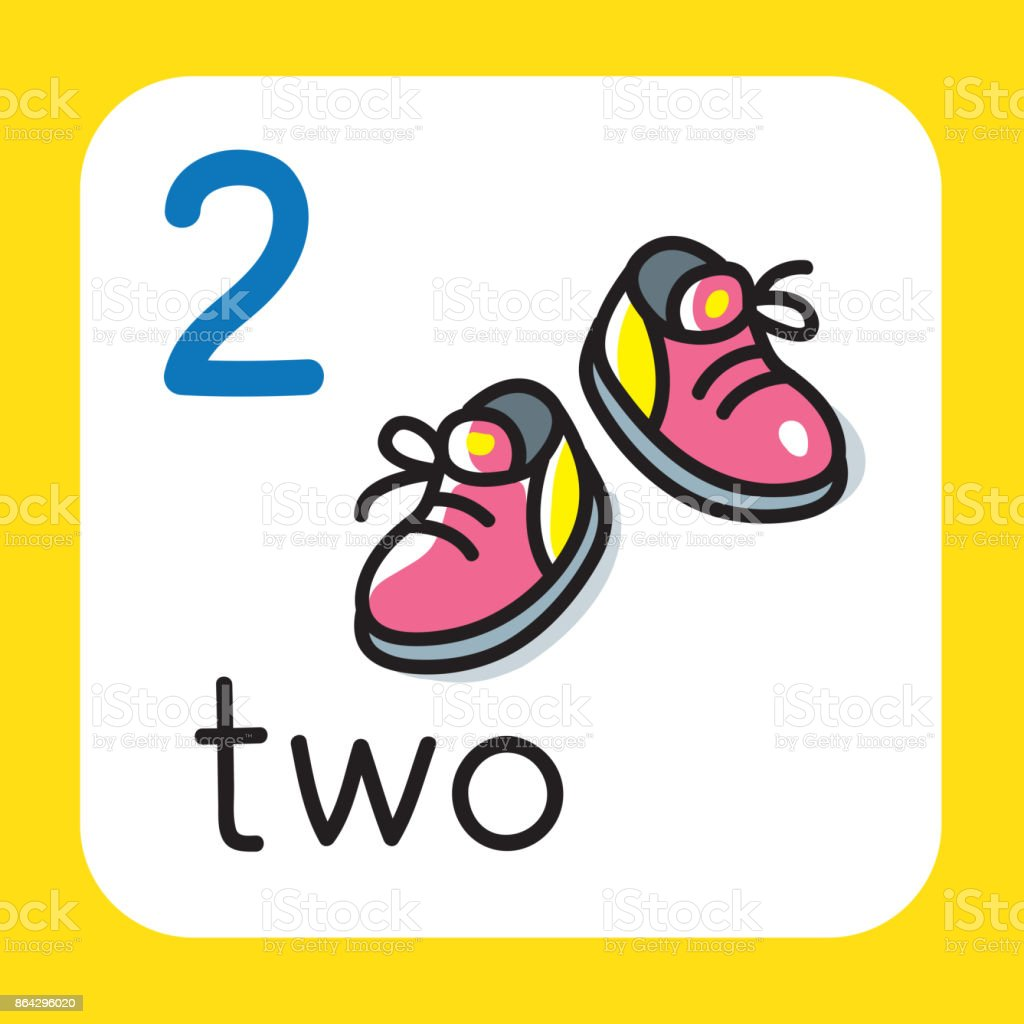 Card for learning to count from 1 to 10. Education royalty-free card for learning to count from 1 to 10 education stock vector art & more images of baby