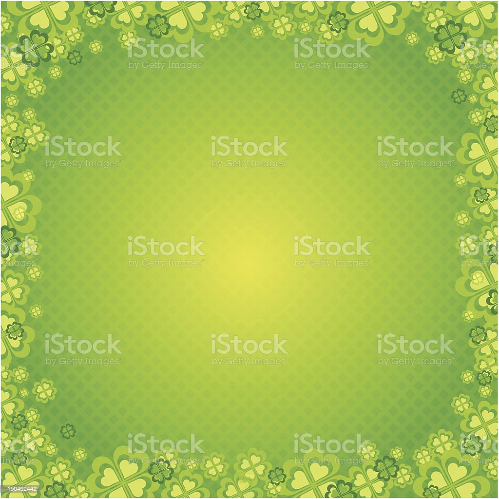 Card for St. Patrick's Day royalty-free stock vector art