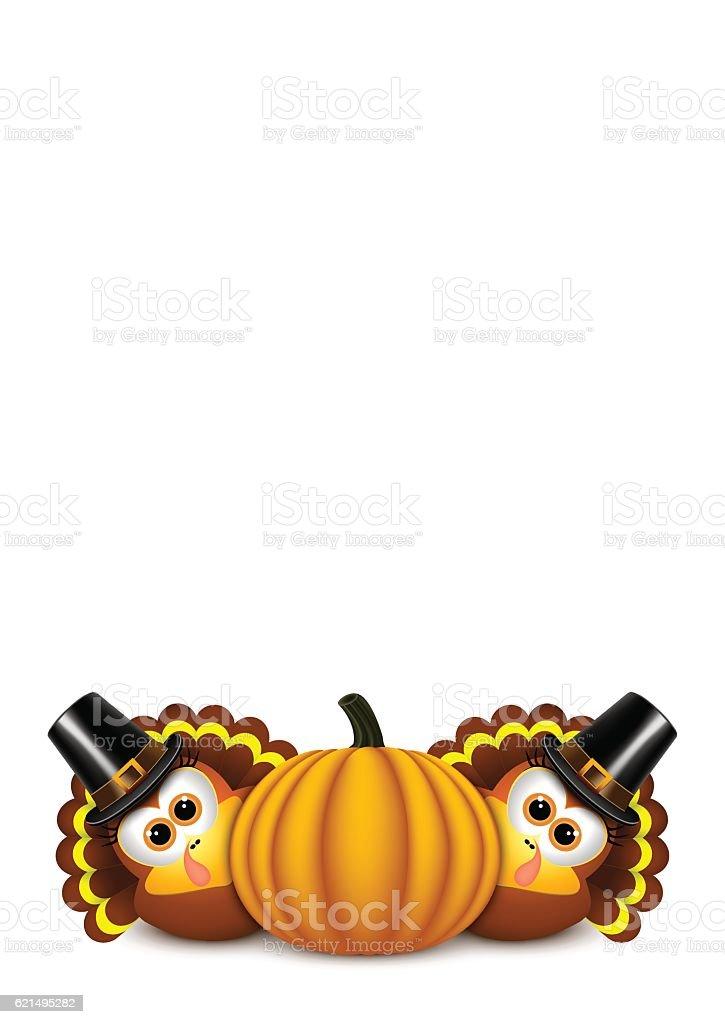 Card for Thanksgiving Day. card for thanksgiving day – cliparts vectoriels et plus d'images de aliment libre de droits