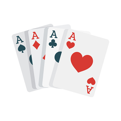 Card Game Icon on Transparent Background