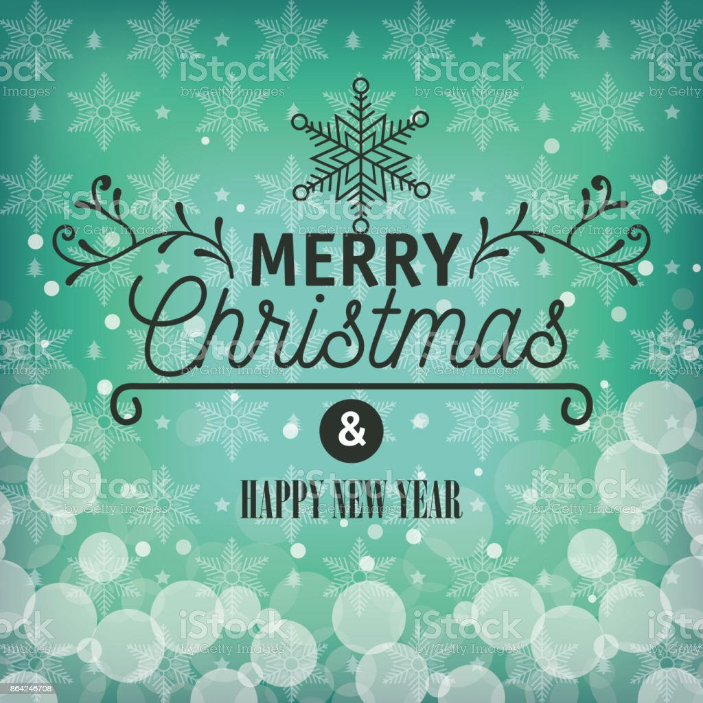 card greeting merry christmas with snowflake graphic royalty-free card greeting merry christmas with snowflake graphic stock vector art & more images of abstract