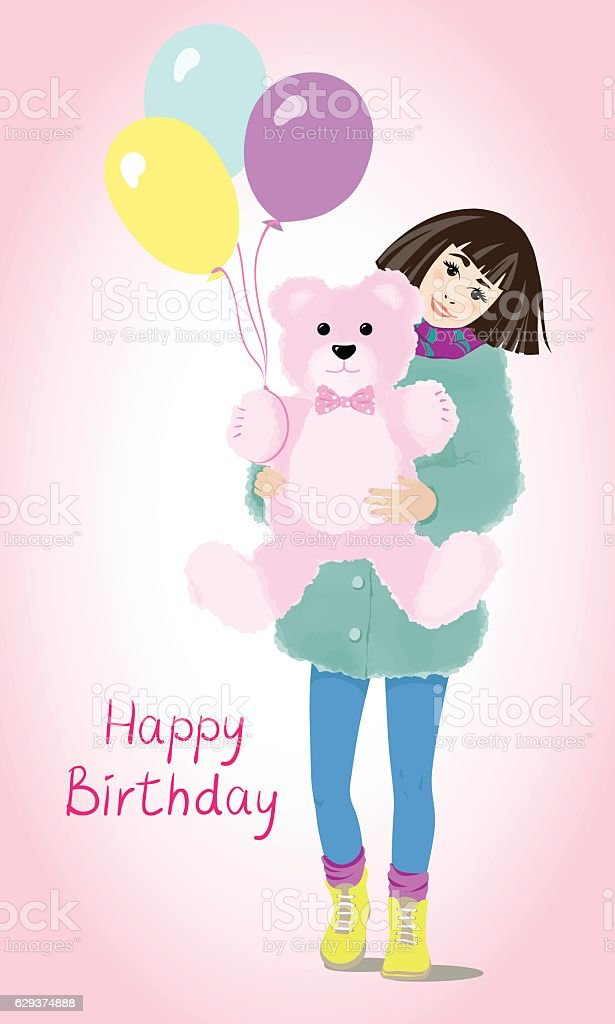 Card Happy Birthday Royalty Free Stock Vector Art Amp More Images