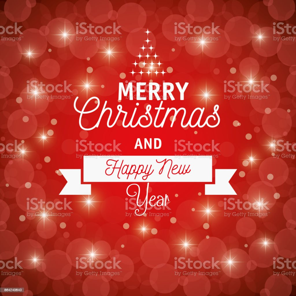 card merry christmas and happy new year graphic royalty-free card merry christmas and happy new year graphic stock vector art & more images of art