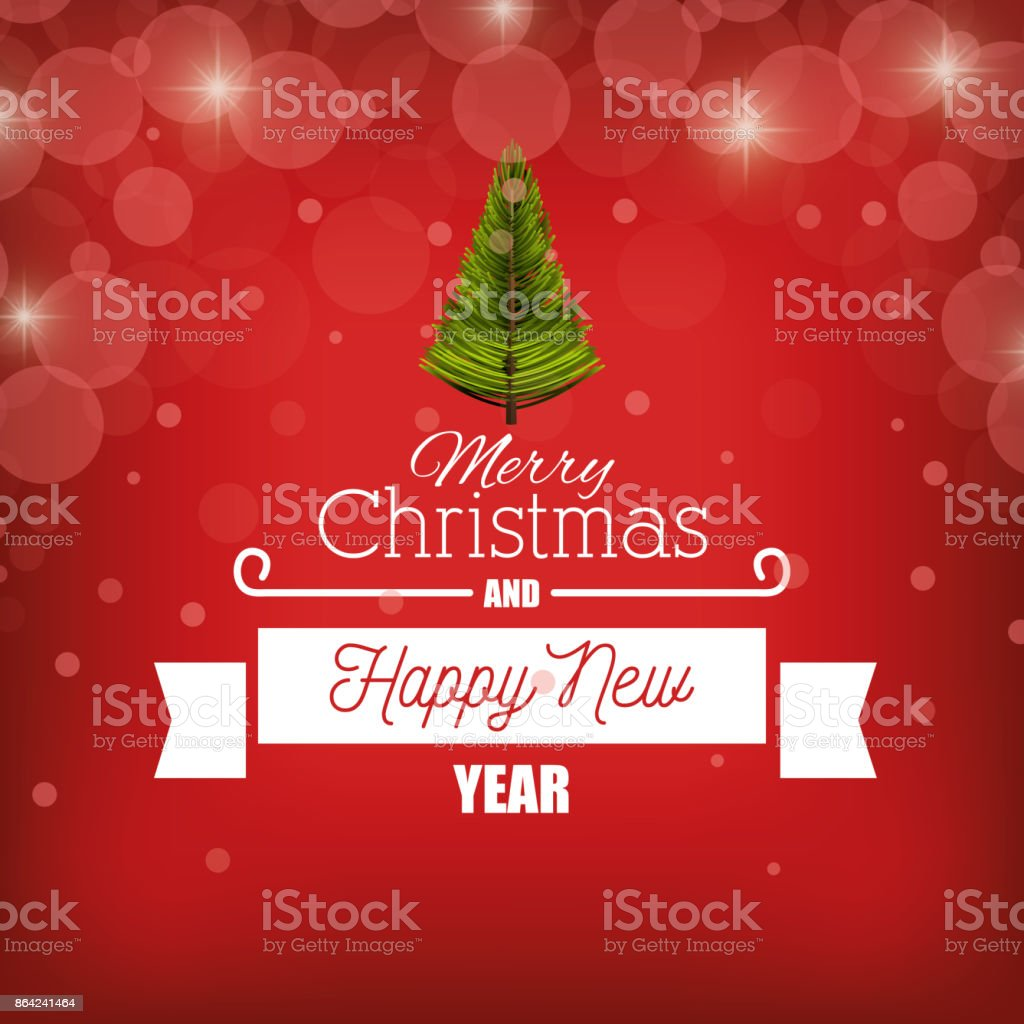 card merry christmas new year with banner graphic royalty-free card merry christmas new year with banner graphic stock vector art & more images of abstract
