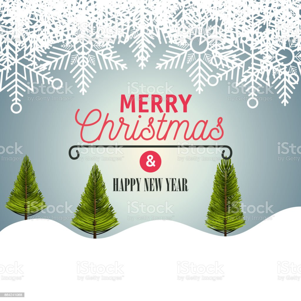 card merry christmas with landscape graphic royalty-free card merry christmas with landscape graphic stock vector art & more images of abstract