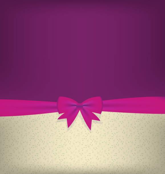 ilustraciones, imágenes clip art, dibujos animados e iconos de stock de tarjeta con arco y plano ilustración vectorial - sparks