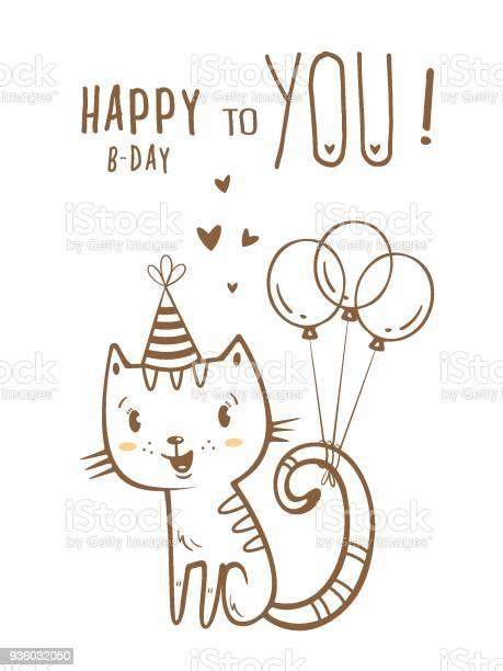 Card with cat vector id936032050?b=1&k=6&m=936032050&s=612x612&h=ex4vjnodcyzumhoakqgdvxwx fhwqsxnbbswgyjmxjc=