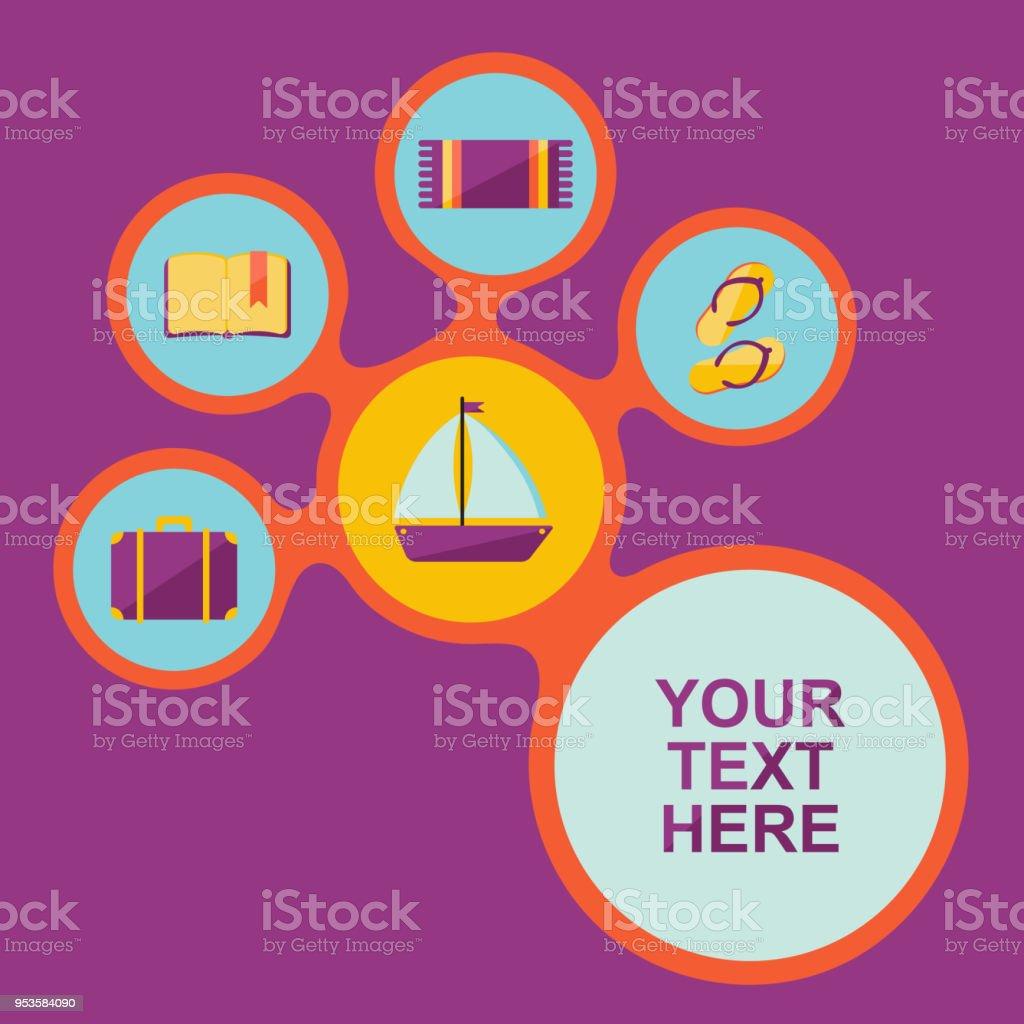 Serviette Des Sac Que Livre Bateau Carte Avec Tels Éléments DbW29YeIHE