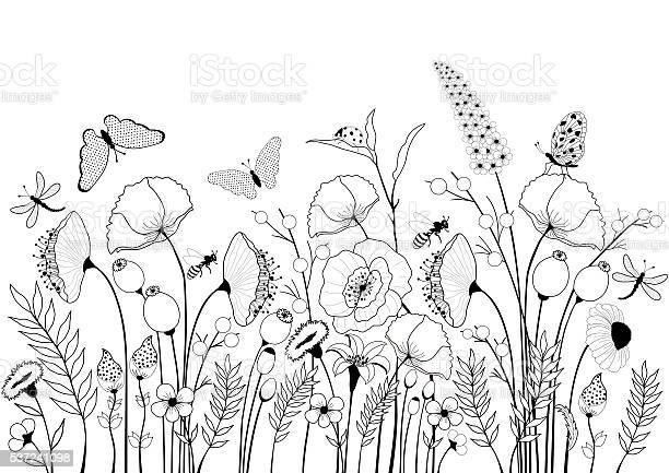 Card with wild flowers and butterflies vector id537241098?b=1&k=6&m=537241098&s=612x612&h=8m 5tzuyi 6s9eufyytxl8u9wflhcljwmjuemoa1v7w=