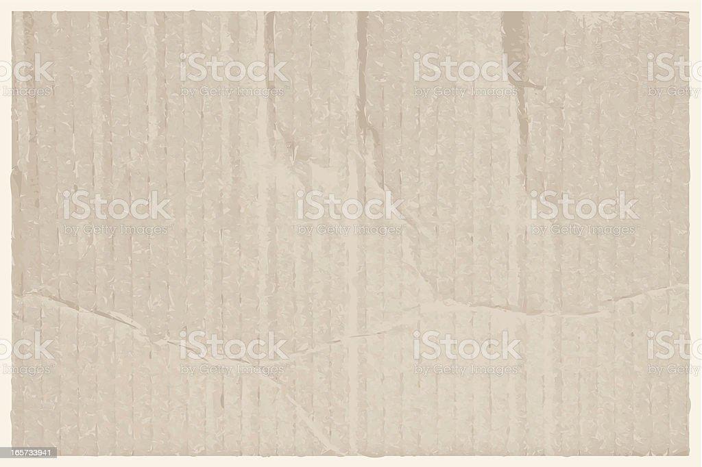 Cardboard Background vector art illustration