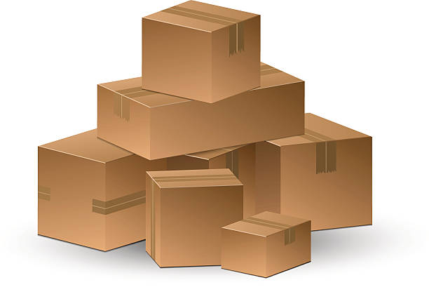 Best Stacking Boxes Illustrations, Royalty-Free Vector ...