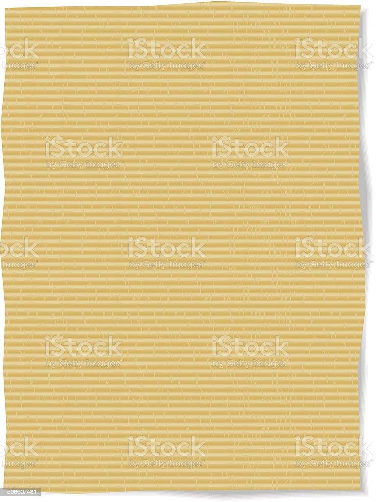 cardboard texture Vector vector art illustration