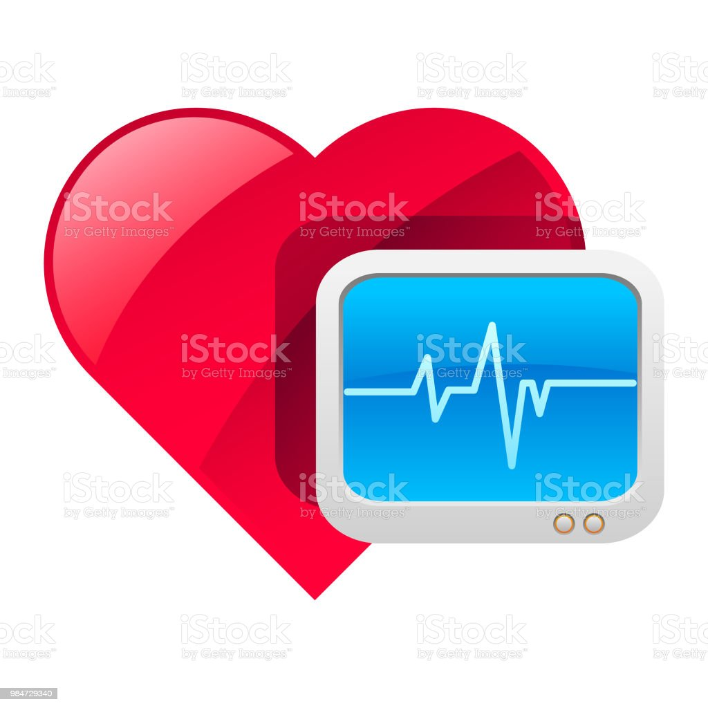 Cardiac Heart Icon Stock Illustration - Download Image Now