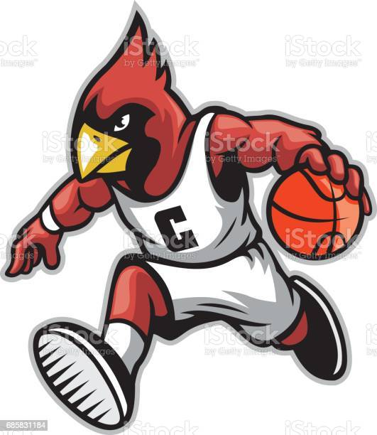 Cardinal as a basketball mascot vector id685831184?b=1&k=6&m=685831184&s=612x612&h=egbffn02ryz6bexo3ewhwv7hxpwac 6j0pbtbuu0ese=