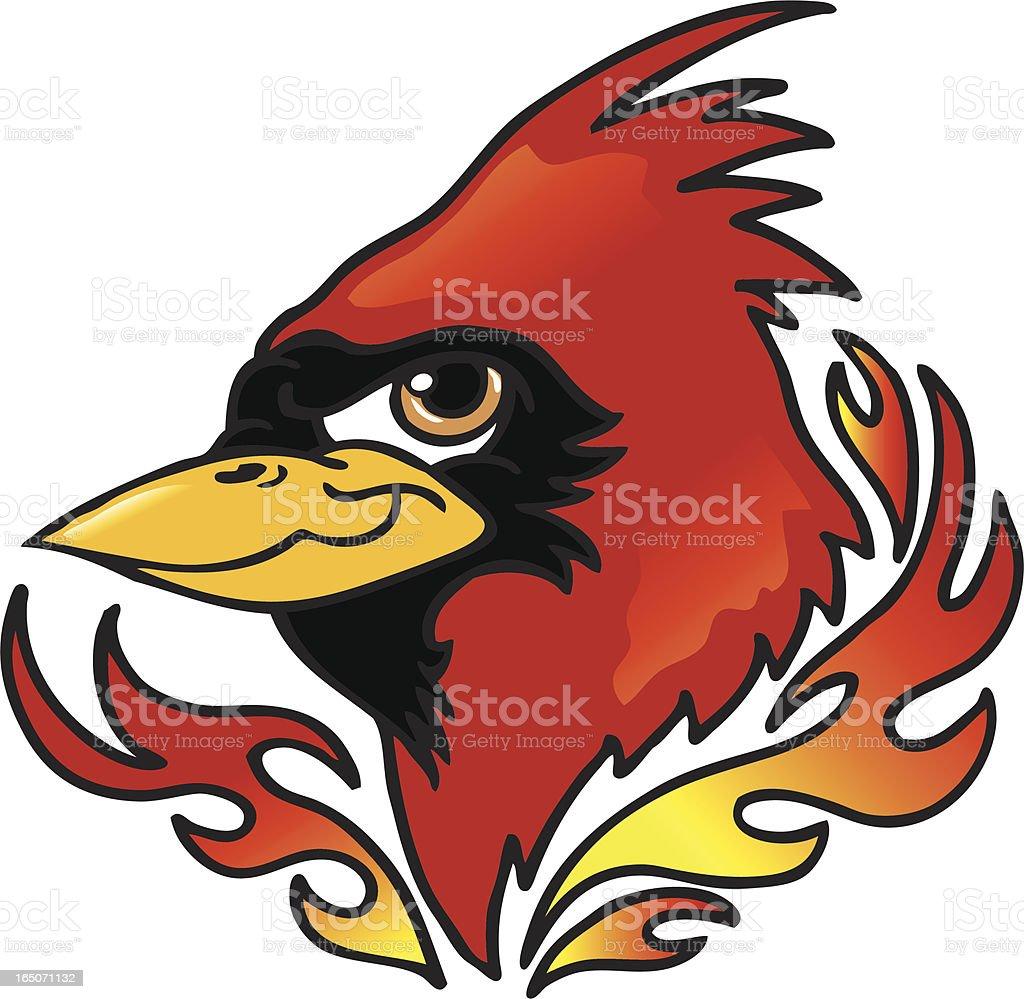 Cardinal Head royalty-free cardinal head stock vector art & more images of animal