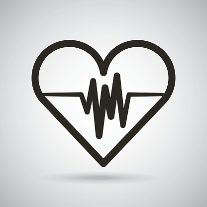 Cardio Heart Icon Stock Illustration - Download Image Now - iStock