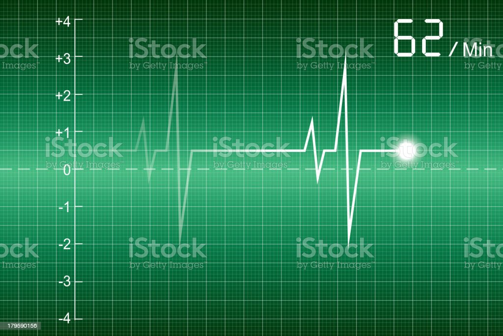 Cardiogram royalty-free stock vector art