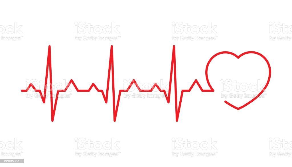 royalty free heartbeat clip art vector images illustrations istock rh istockphoto com heartbeat clipart free heartbeat clipart racing