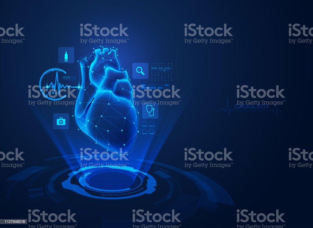 cardiology - Векторная графика Абстрактный роялти-фри