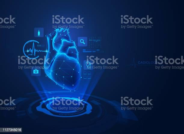 Cardiology — стоковая векторная графика и другие изображения на тему Абстрактный