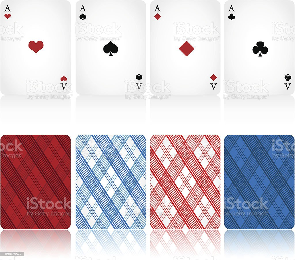 Cards. vector art illustration