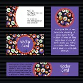 Cards with big eye balls