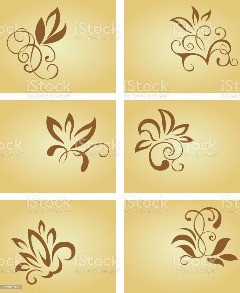 Cards with flowers royalty-free cards with flowers stock vector art & more images of backgrounds