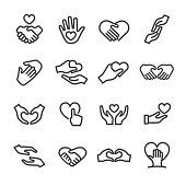 Gesture, Care, Love,