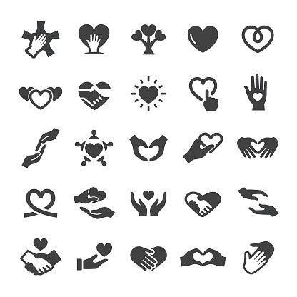 Care and Love Icons - Smart Series