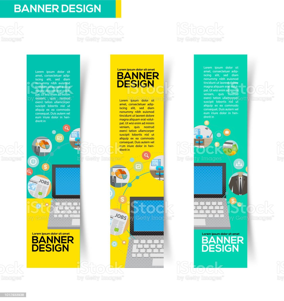 Career Banner Design Stock Illustration Download Image Now Istock