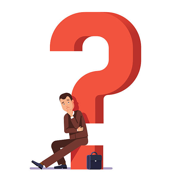 career choosing concept - unemployment stock illustrations